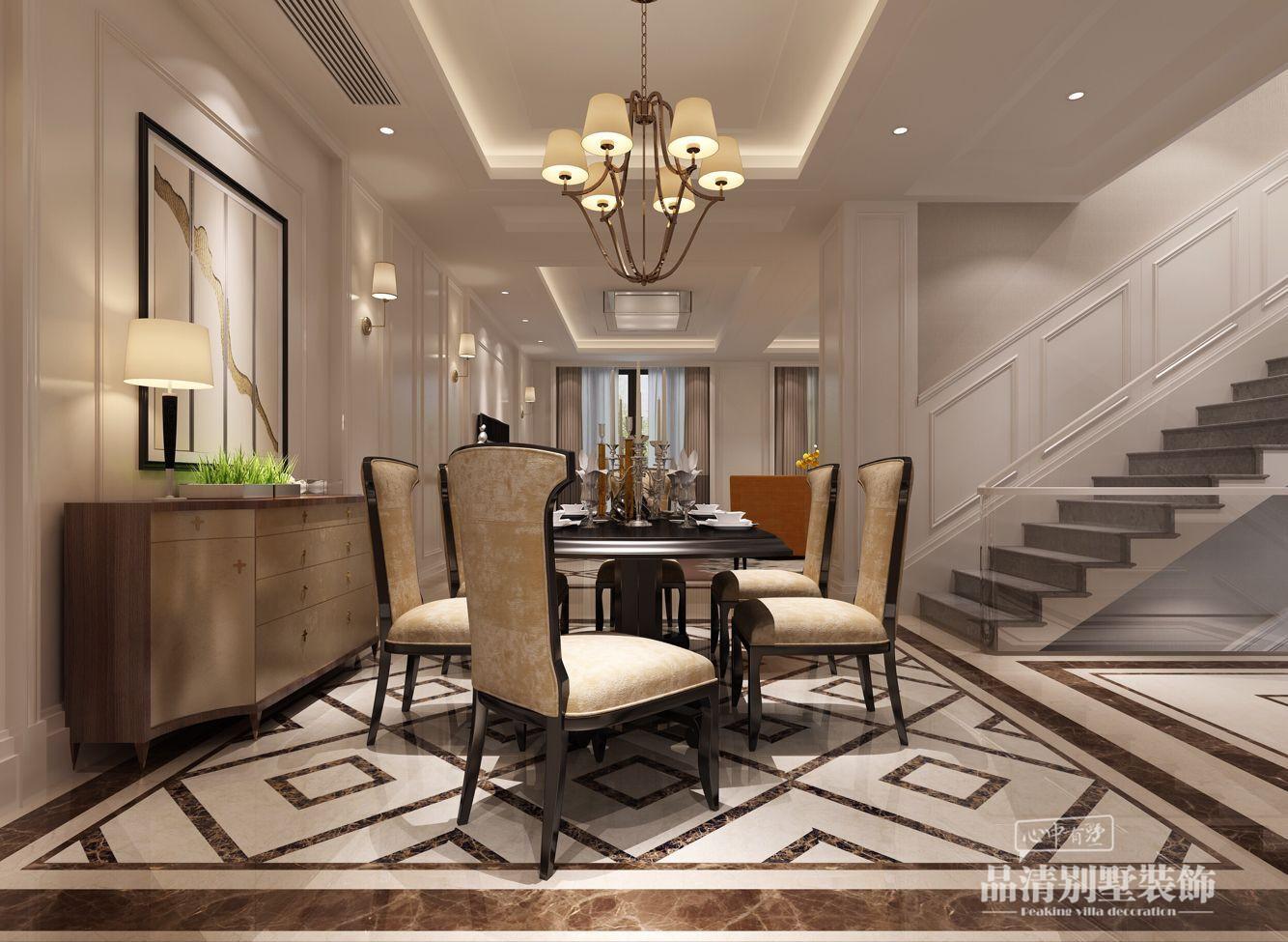 别墅装修 无锡别墅 别墅设计 美式风格图片来自别墅装修设计师在东港花苑340㎡美式风格的分享