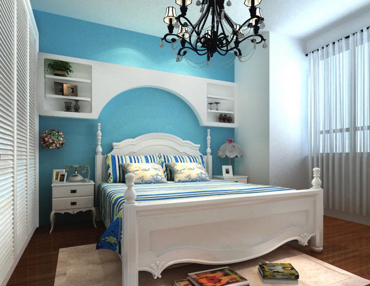 客厅 餐厅 卧室图片来自今朝宜居装饰在设计的风格为地中海的分享