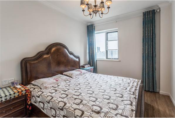 三居 80后 小资 卧室图片来自装家美在【实景图】丰沃悦湖城美式风格的分享