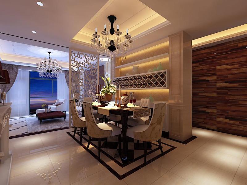 简约 欧式 客厅 餐厅图片来自今朝宜居装饰在风格为简约欧式的分享
