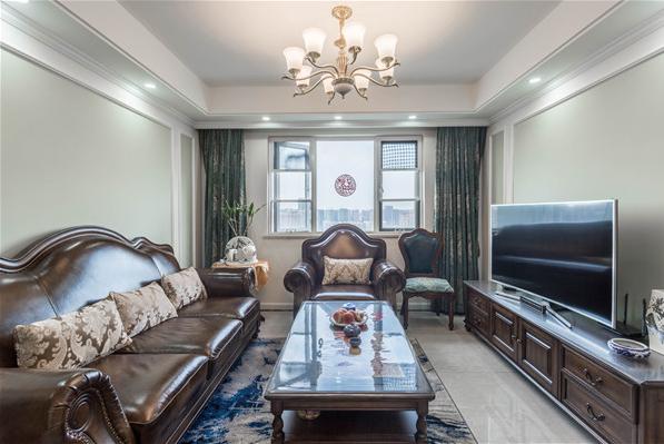 三居 80后 小资 客厅图片来自装家美在【实景图】丰沃悦湖城美式风格的分享