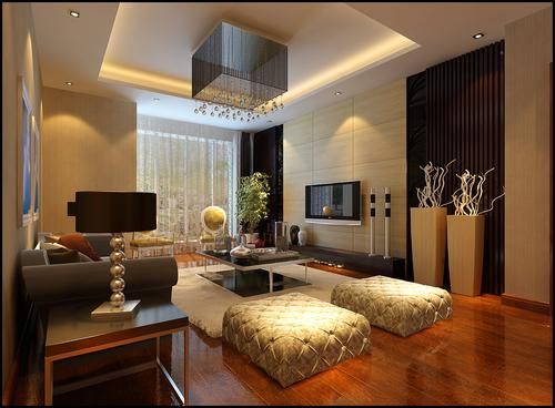 混搭 客厅图片来自今朝宜居装饰在简约混搭风格的分享