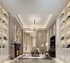 在客厅餐厅都使用了镜面元素,使得空间得到了延伸,精致的水晶灯,舒适的沙发,简洁的餐桌,彰显出现代设计的精髓。精益求精,焕然一新。