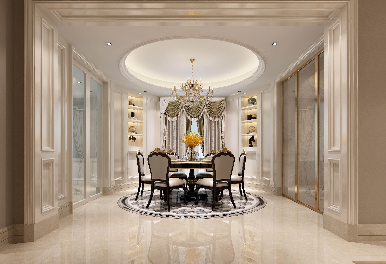 别墅 设计 装修 案例 欧式风格 餐厅图片来自无锡别墅设计s在奥林匹克简欧风格别墅设计案例的分享