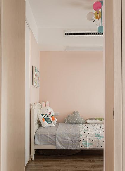 儿童房图片来自家装大管家在寻求真我 100平现代素雅时尚3居的分享