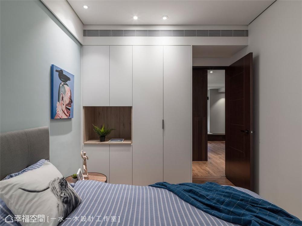 装修设计 装修完成 现代风格 卧室图片来自幸福空间在149平,日系禅风机能好宅的分享