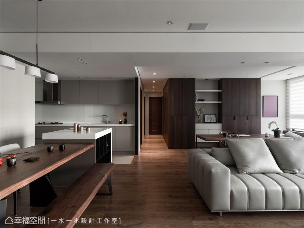 装修设计 装修完成 现代风格 厨房图片来自幸福空间在149平,日系禅风机能好宅的分享