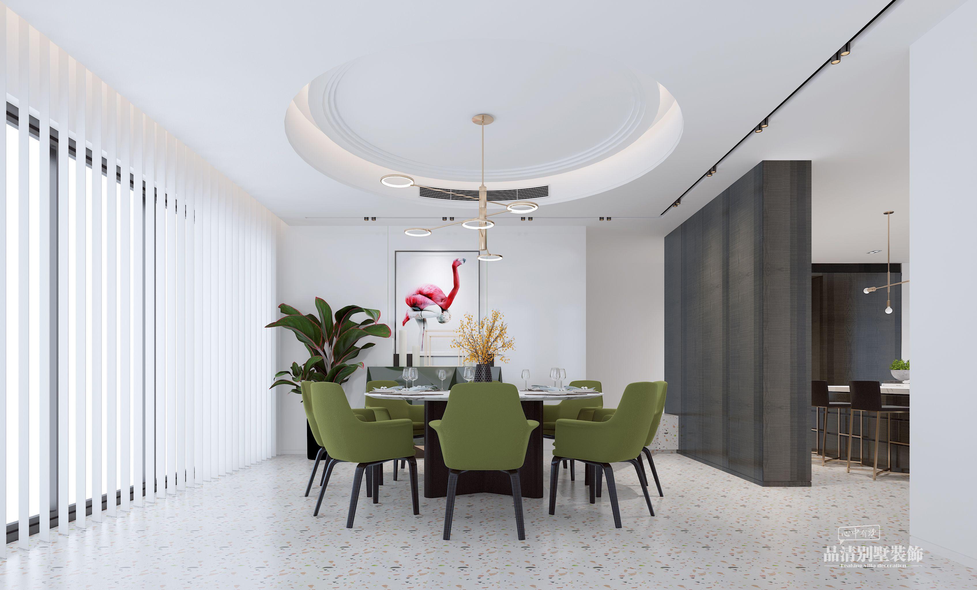 无锡别墅 别墅设计 别墅装修 现代风格 亚美利加图片来自别墅装修设计师在亚美利加500㎡现代风格的分享