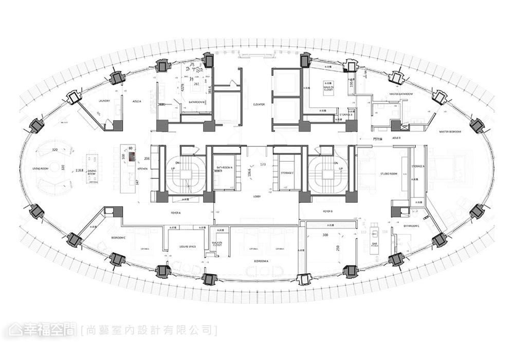 装修设计 装修完成 休闲多元 户型图图片来自幸福空间在506平,山水环景大器时尚宅的分享