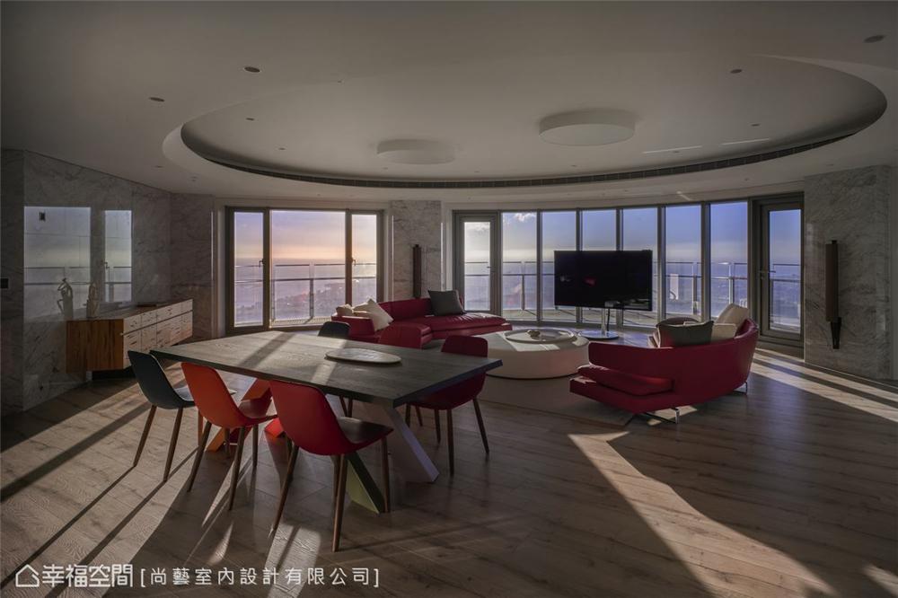 装修设计 装修完成 休闲多元 客厅图片来自幸福空间在506平,山水环景大器时尚宅的分享