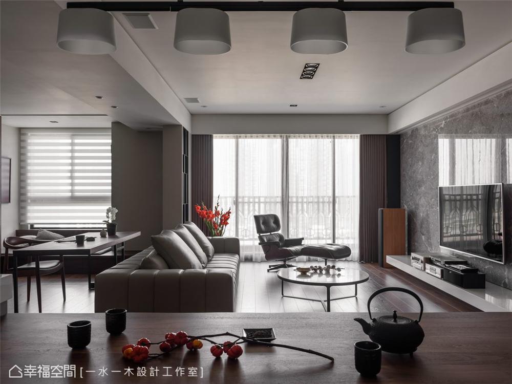 装修设计 装修完成 现代风格 客厅图片来自幸福空间在149平,日系禅风机能好宅的分享