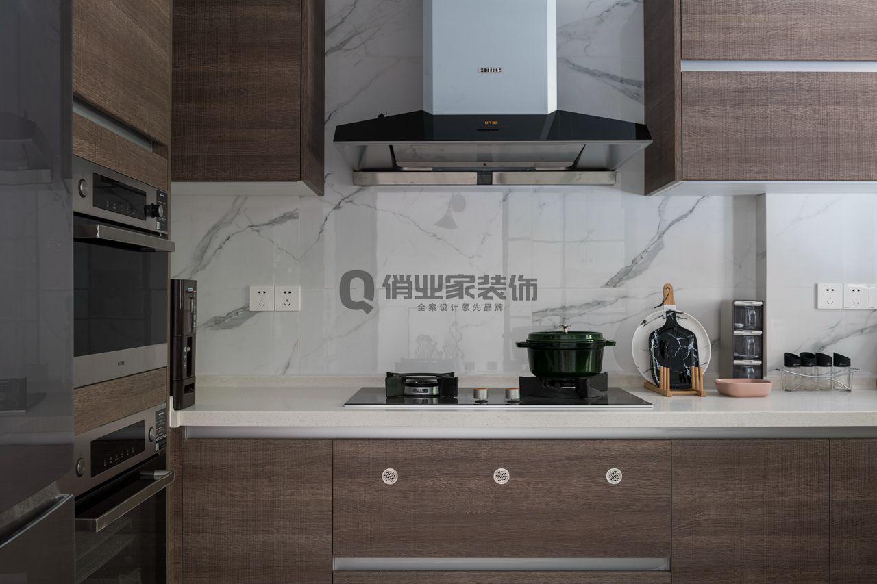 重庆逸翠庄 联排别墅 重庆装修 北欧风格 厨房图片来自俏业家装饰在重庆逸翠庄园北欧风格装修案例的分享