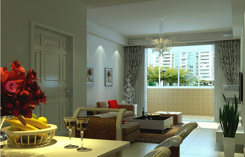 简约 欧式 客厅图片来自今朝宜居装饰在简欧风格装饰特点的分享