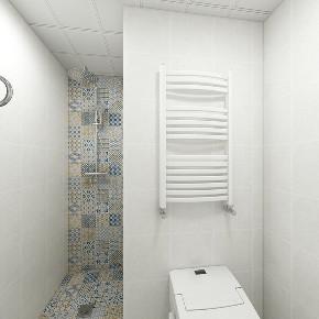 混搭 二居 收纳 旧房改造 小资 卫生间图片来自北京今朝装饰在北欧混搭的分享