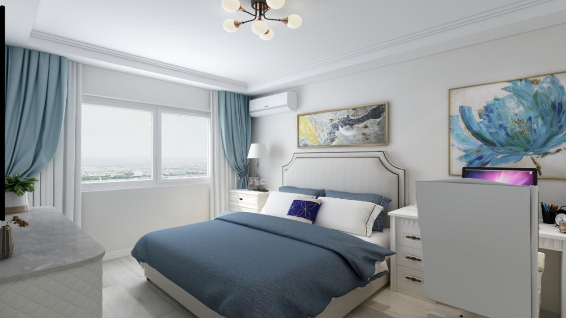 混搭 二居 收纳 旧房改造 小资 卧室图片来自北京今朝装饰在北欧混搭的分享
