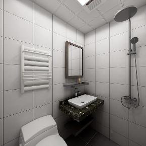 混搭 二居 旧房改造 小资 卫生间图片来自北京今朝装饰在简美混搭的分享