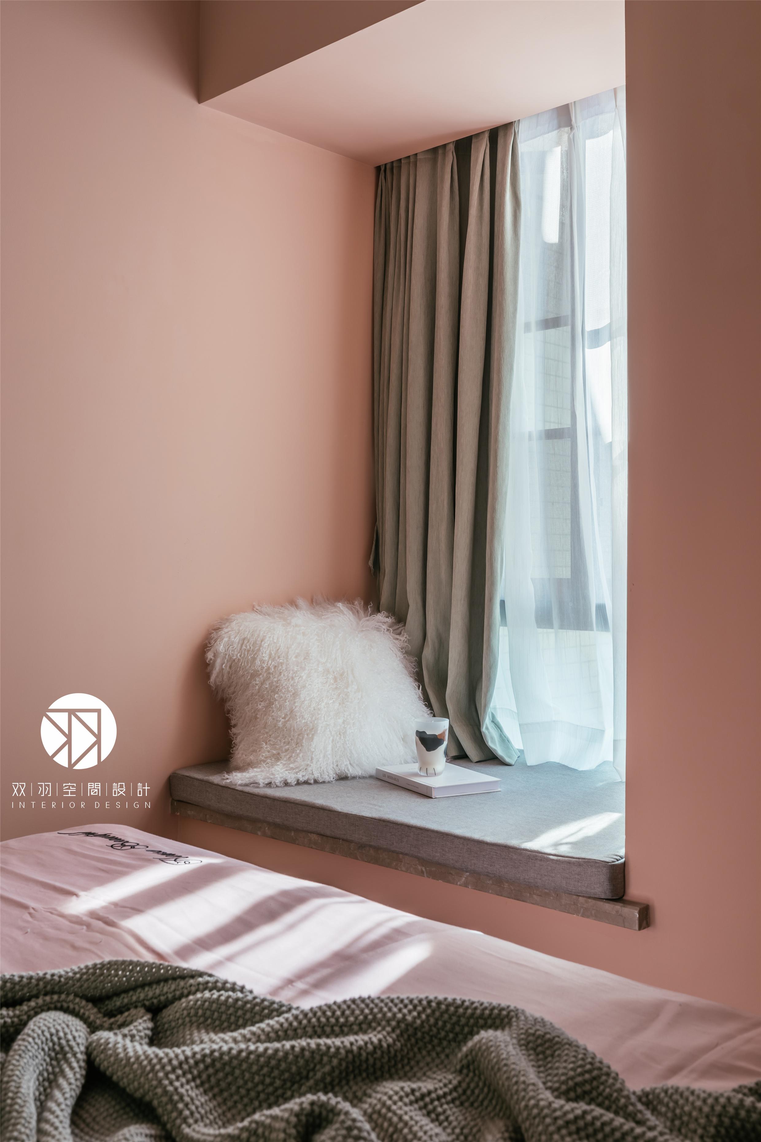 美式 装修 卧室 混搭 轻奢图片来自双羽空间设计在Time Story 時光物語的分享