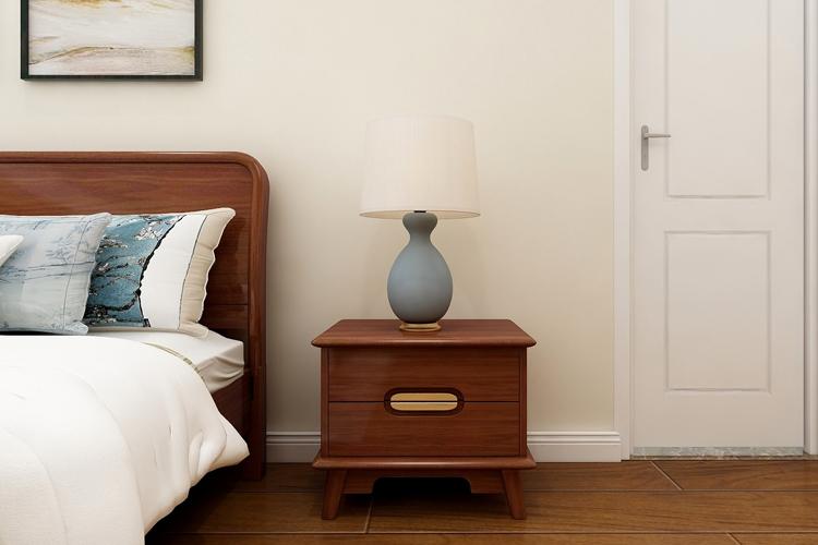 床头柜 实木家具 新中式家具 金丝檀木图片来自浙江阿家咪米在阿家咪米新中式家具美图系列的分享