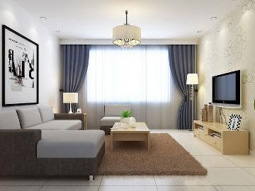 二居室-60平米-装修设计
