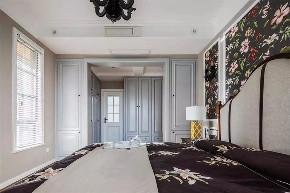 美式 混搭 全案设计 定制家装 重庆家装 鹏友百年 卧室图片来自鹏友百年装饰在超温馨美式三居的分享