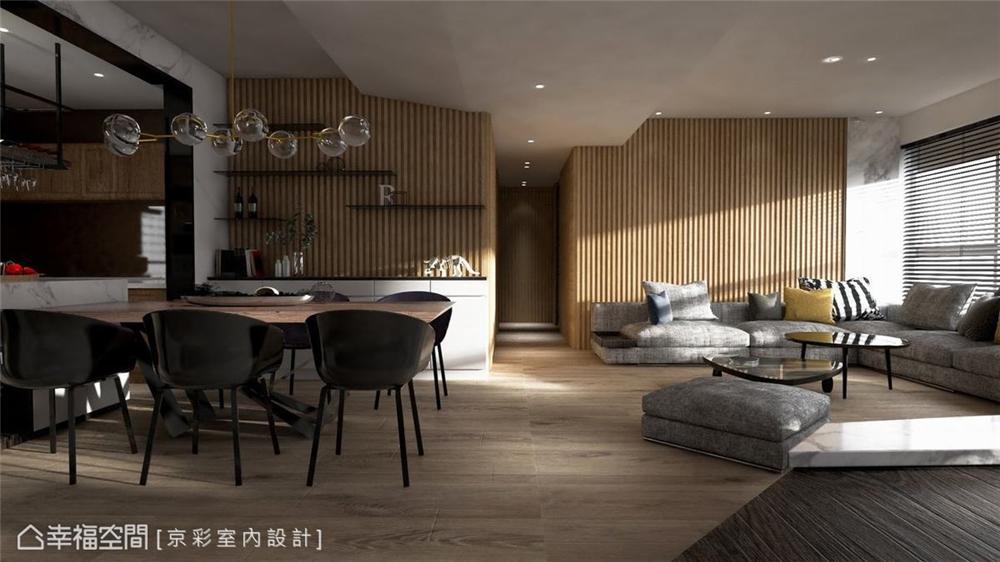 装修设计 装修完成 现代风格 客厅图片来自幸福空间在152平,低奢温润度假雅居的分享