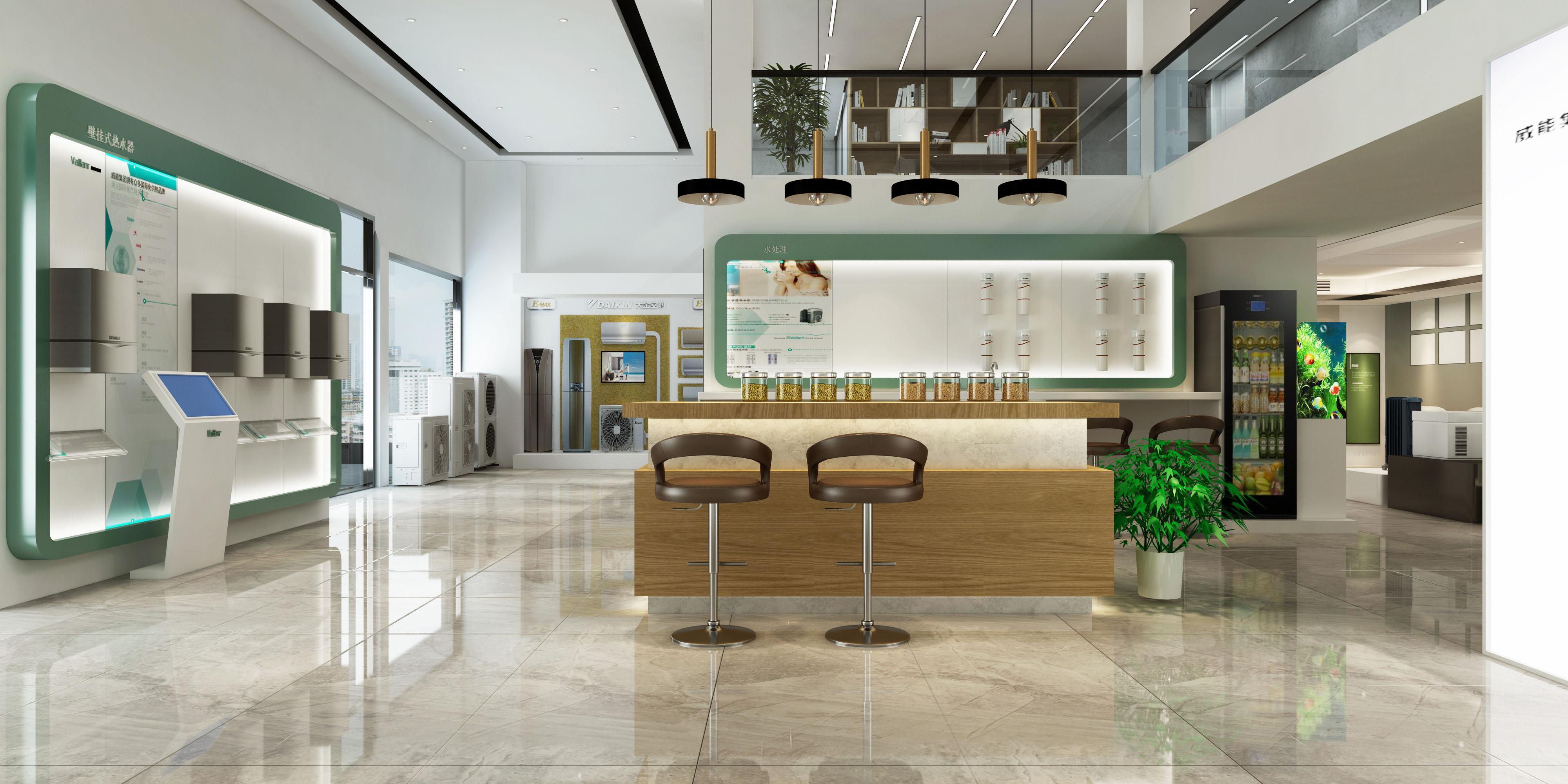 工装 展厅 装饰 其他图片来自夏空间营造在夏•空间营造   荆州大金展厅的分享