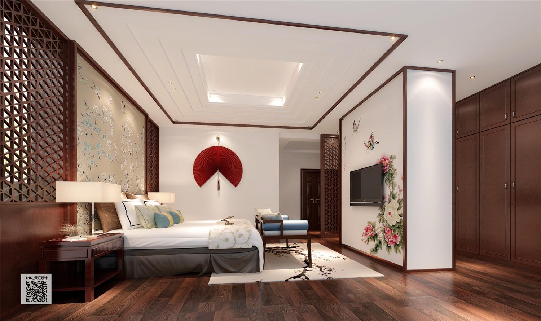 新中式 别墅 豪宅 中式 游小华 卧室图片来自福建天汇设计工程有限公司在THD-天汇设计《九富墅》的分享