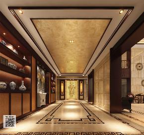 新中式 别墅 豪宅 中式 游小华 玄关图片来自福建天汇设计工程有限公司在THD-天汇设计《九富墅》的分享