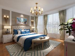 三居 欧式 旧房改造 80后 小资 卧室图片来自北京今朝装饰在顶秀清溪的分享