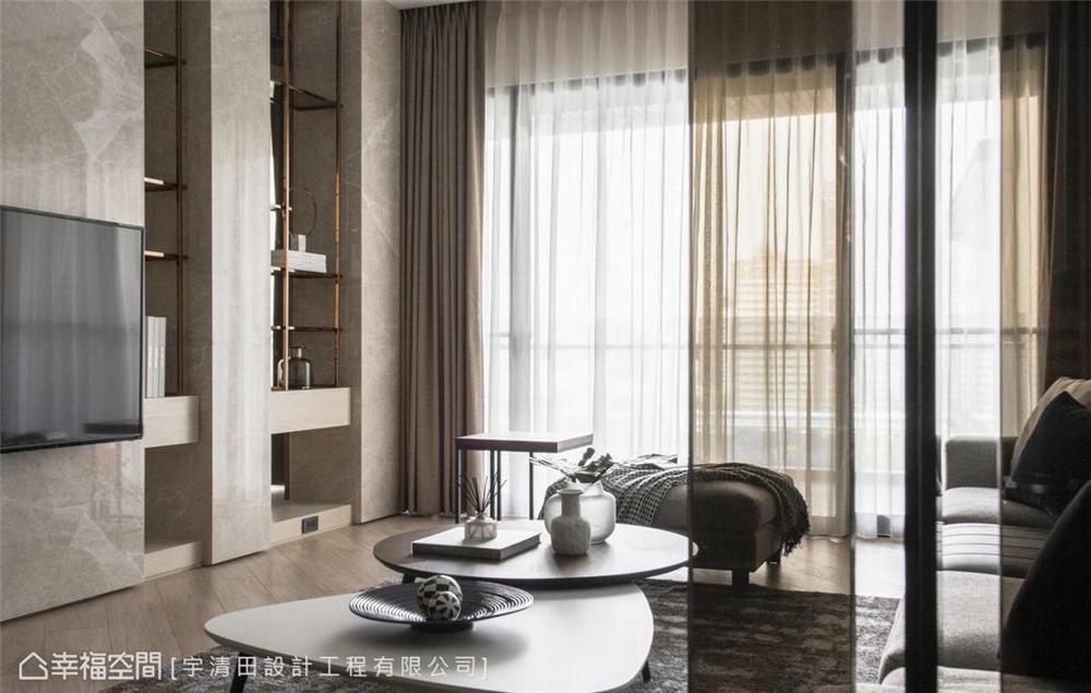 装修设计 装修完成 现代风格 客厅图片来自幸福空间在149平, 精品工艺唯美宅的分享
