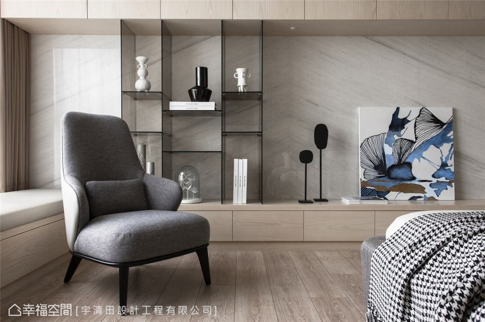 装修设计 装修完成 现代风格 卧室图片来自幸福空间在149平, 精品工艺唯美宅的分享
