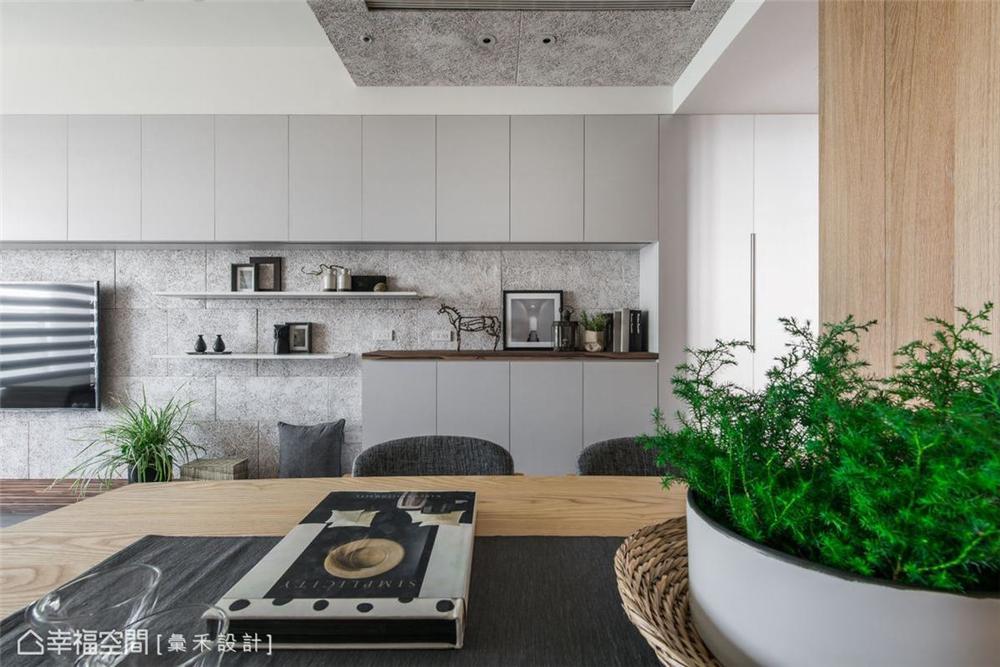 装修设计 装修完成 休闲多元 餐厅图片来自幸福空间在79平,满足对家的幸福期待的分享