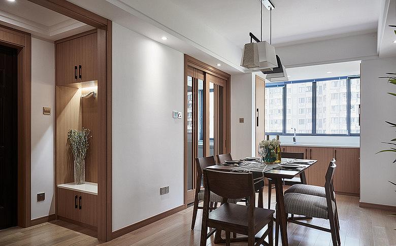 餐厅图片来自家装大管家在140平雅致北欧3居 专享静谧时光的分享