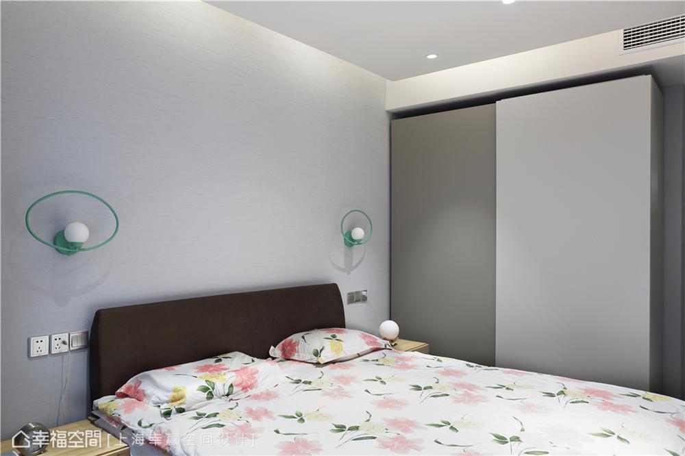 装修设计 装修完成 现代风格 卧室图片来自幸福空间在89平,大容量风水满分文化宅的分享