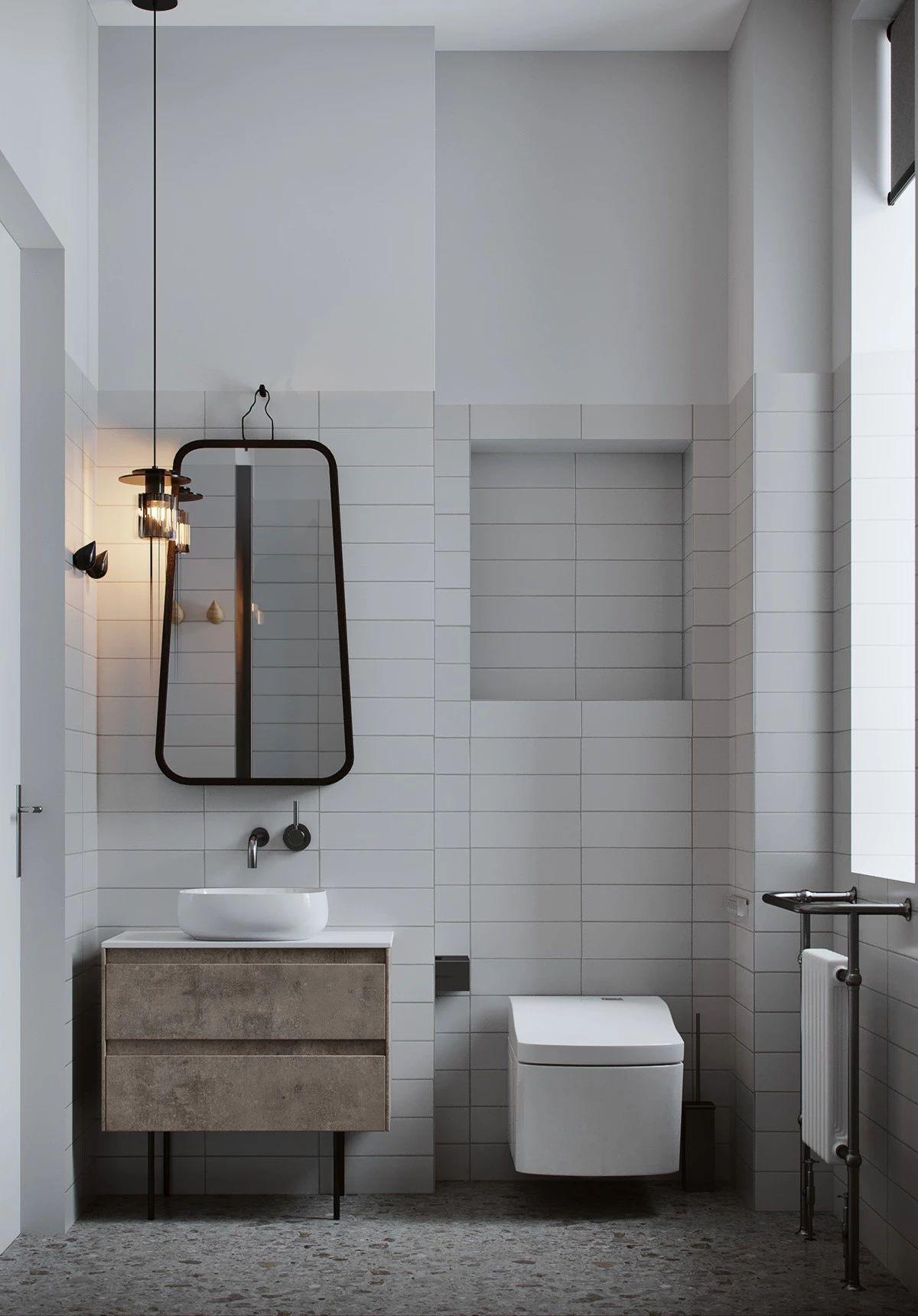 卫生间图片来自鹏友百年装饰在这样布局空间大一倍的分享
