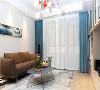 客厅 客厅没有过多华丽的装饰,仅以一盏后现代风格吊灯为主角,搭配现代感的家具软件,塑造明亮宽敞的空间视觉。