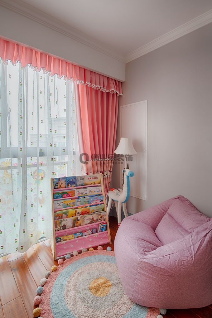 美式 简约 80后 儿童房图片来自俏业家装饰在国宾城四室 现代美式风格装修的分享