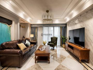 国宾城四室|现代美式风格装修
