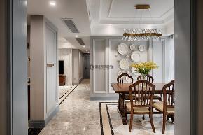 美式 简约 80后 餐厅图片来自俏业家装饰在国宾城四室|现代美式风格装修的分享