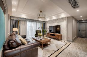 美式 简约 80后 客厅图片来自俏业家装饰在国宾城四室|现代美式风格装修的分享