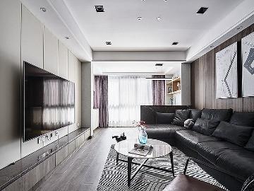 106平现代素雅3居 营造舒适生活