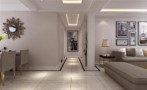峰光无限 现代 两室 楠香郡 玄关图片来自我是小样在楠香郡91平两室现代风格的分享
