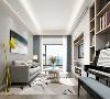 本项目为北欧风格,在此设计中多选择白色为主要装修色调,选择灰色和木色搭配,选择也是高纯度的色彩搭配,整体看起来很时尚。白色为基础色彩可以增加室内的款长度,让室内采光不是很好的空间看起来更加的明亮。