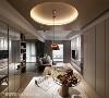 延伸采光 善用客厅大面积采光的优点,客厅与餐厅采用开放式空间设计,让自然光可以向内延伸,增加明亮感。