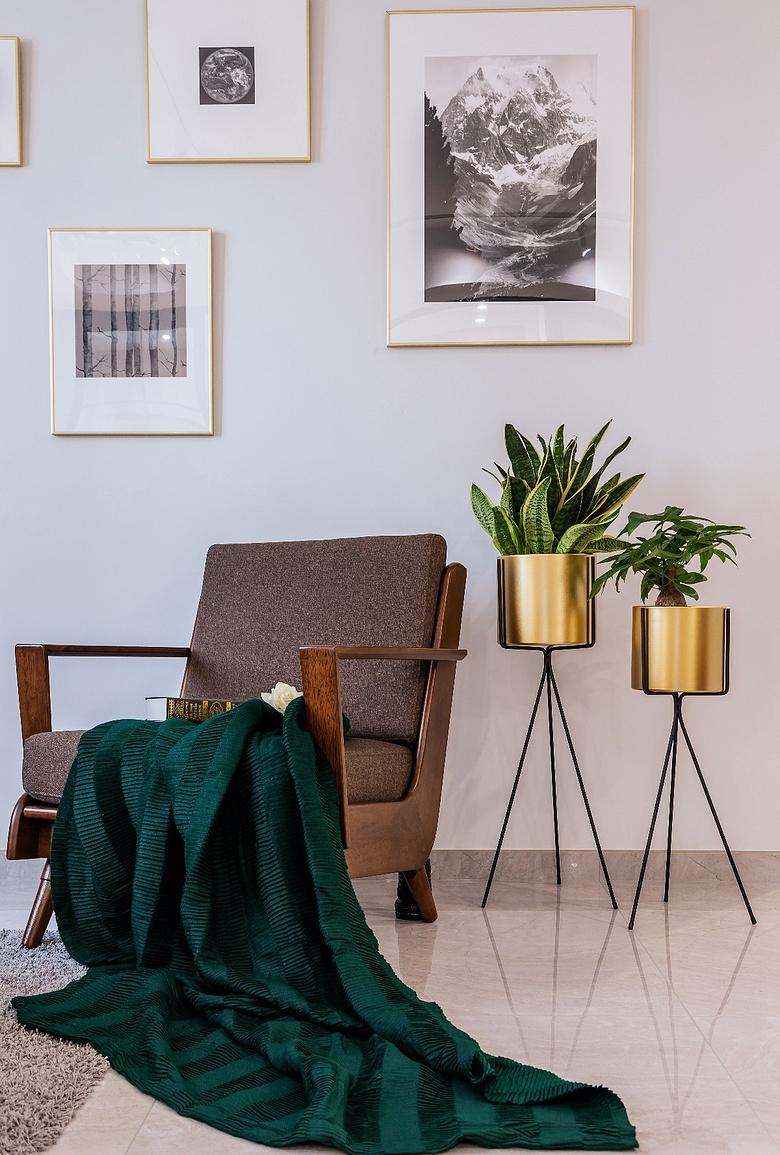 客厅图片来自家装大管家在130平北欧舒适3居 放空自我世界的分享