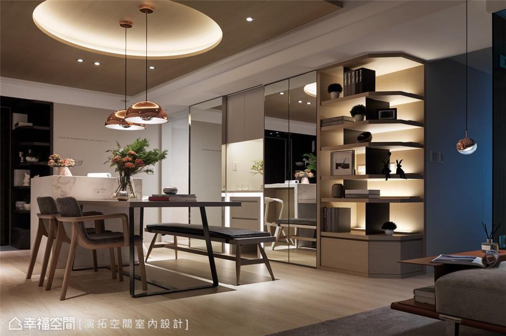 装修设计 装修完成 现代风格 其他图片来自幸福空间在106平,构筑温柔语汇空间的分享