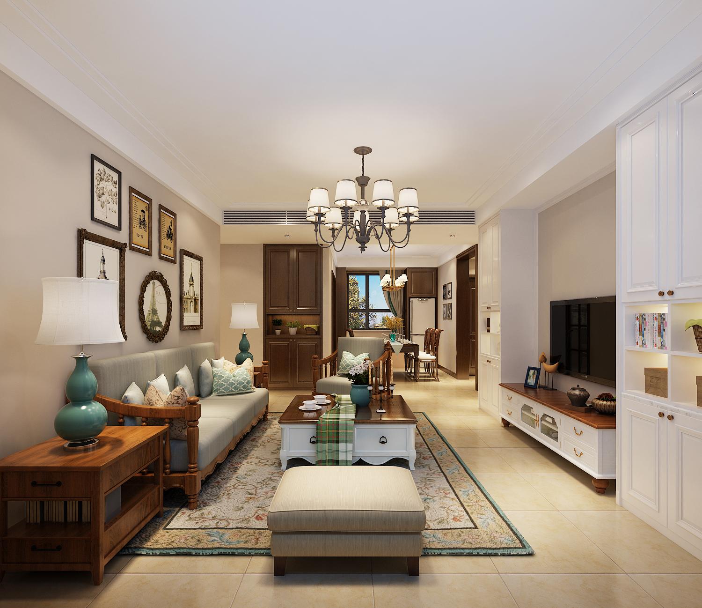 客厅图片来自业之峰装饰旗舰店在美式风情的分享