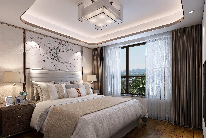 卧室图片来自业之峰装饰旗舰店在桃花源的分享