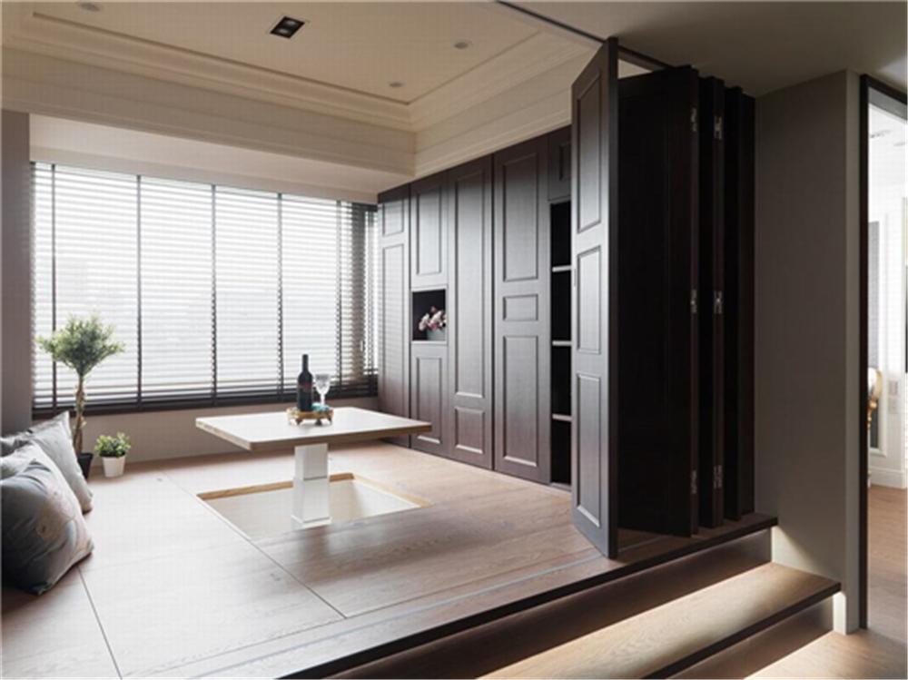 装修设计 装修完成 新古典 卧室图片来自幸福空间在99平,奢华品味,新古典内敛美宅的分享