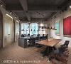 裸梁 清掉天花板多余装饰后,发现原有裸梁别具美感,搭配带有LOFT风格的金属吊灯,让现代风格中带点创意个性。